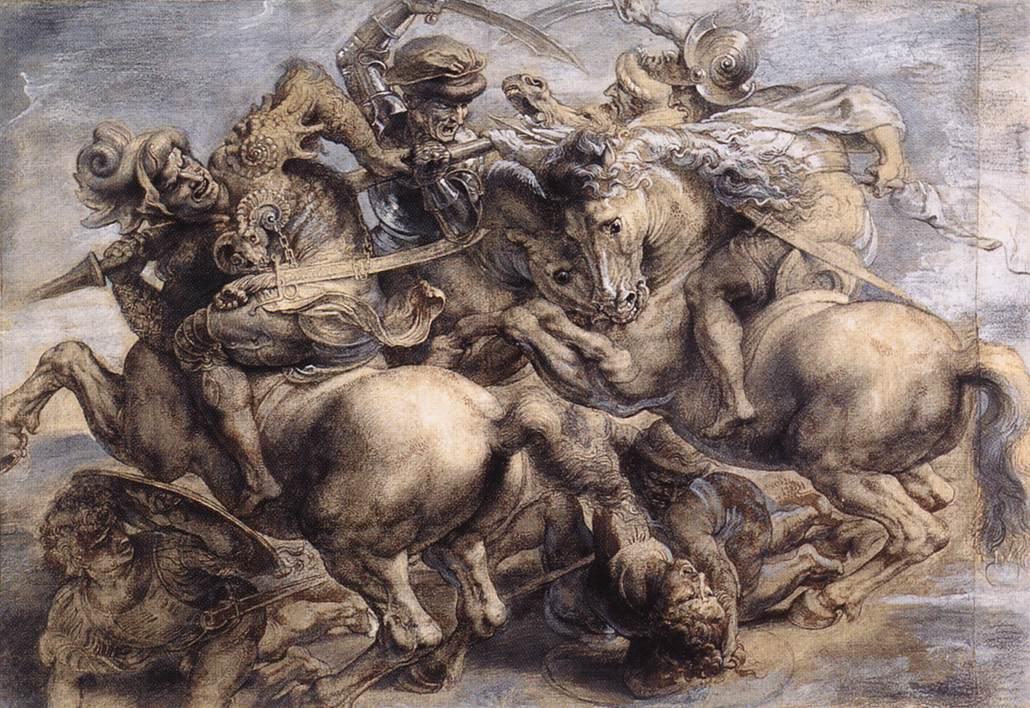 After_leonardo_da_vinci,_The_Battle_of_Anghiari_by_Rubens,_Louvre