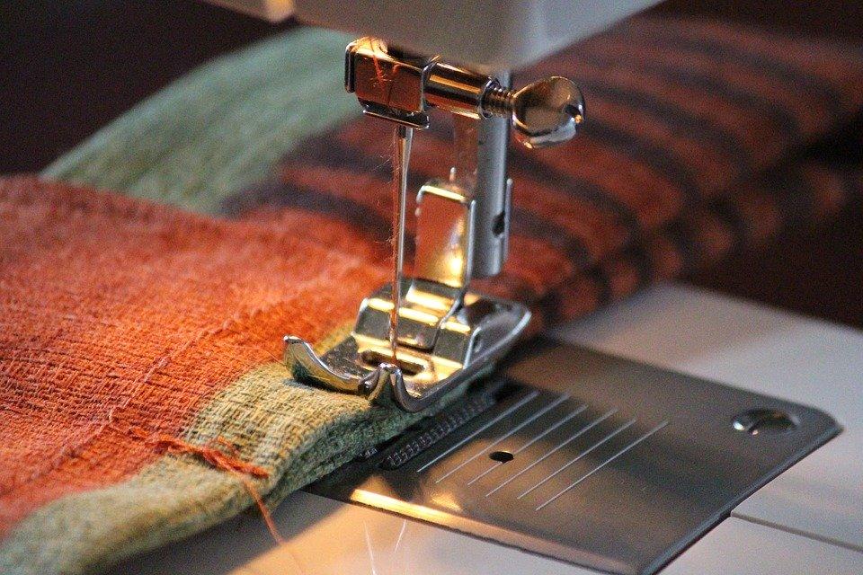 Fabric Pattern Hand Labor Sew Sewing Machine